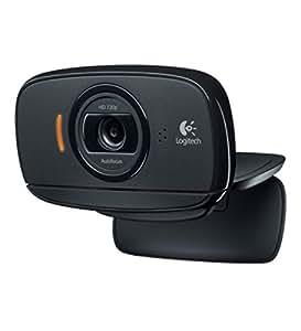 Logitech B525 HD 2MP 1280 x 720pixels USB 2.0 Black webcam - Webcams (2 MP, 1280 x 720 pixels, 30 fps, 720p, 1280 x 720 pixels, Windows 7 Home Premium,Windows 7 Home Premium x64,Windows 7 Professional,Windows 7 Professional...)