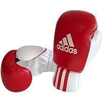 adidas Guante de boxeo ROOKIE-2, rojo-blanco, 8 oz, ADIBK01RD-8