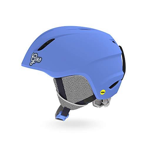 Giro Snow Unisex Jugend Launch Junior MIPS Skihelm, Matte Shock Blue, XS -