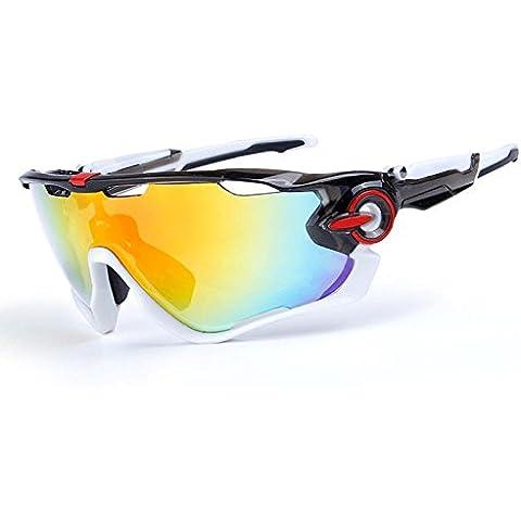 OPEL-R Conducción al aire libre polarizado deporte ocio material playa gafas de sol/gafas de gafas/PC, contiene cinco variedad de lentes de decoración ,