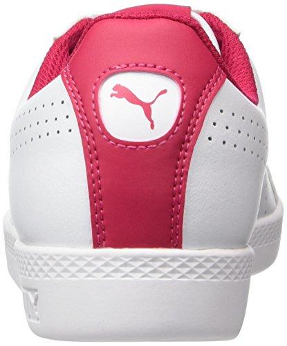 Puma Smash Perf, Sneakers Basses Femme Blanc (White-love Potion)