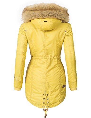 a78fb3f1b9 Navahoo La Viva – Cappotto da donna, parka invernale, prodotto vegano, in 7  colori + motivo mimetico, taglie da XS a XXL