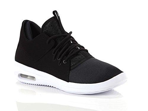 outlet store sale f6932 75902 Jordan Nike AJ7312 002, Herren Sneaker, Black Black White - Größe  39 EU