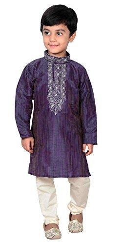 Desi Sarees Boys Sherwani Kurta Pajama Bollywood Theme 918 (.