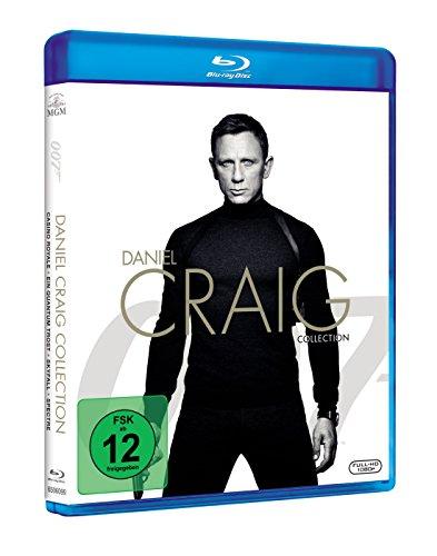 James Bond 007: Daniel Craig Collection inkl. Spectre [Blu-ray]