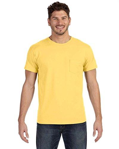 Hanes Herren Asymmetrischer T-Shirt - Vintage Gold