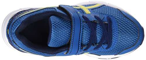 Asics Pre Galaxy 9 Ps, Chaussures de Running Mixte Enfant Bleu (Thunder Blue/vibrant Yellow/in)