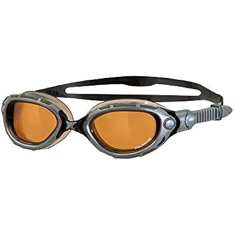 Zoggs 322847 - Gafas de natación, color plata / negro