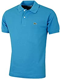Lacoste - Manches courtespolo Bleu L1212 Lacoste homme - Taille vêtements - M