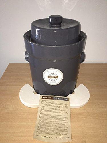 gaertopf 10 liter Gärtopf 10 L Steingrau