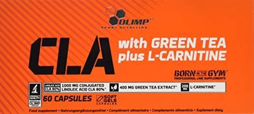 Olimp CLA withgreen Tea plus L-Carnitine Sport Edition - Fettverbrenner, 1er Pack (1 x 60 Kapseln)
