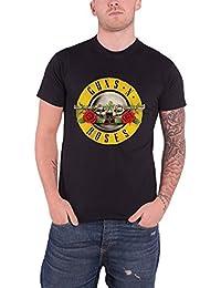 Guns N Roses T Shirt Classic Band Logo Album Cover officiel Homme nouveau Noir