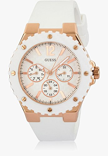GUESS Overdrive Analog White Dial Women's Watch - W10614L2 image