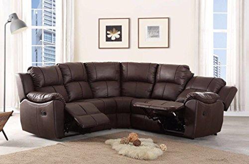 The sofa and bed factory il divano e letto reclinabile in fabbrica nuovo marbella grande divano angolare reclinabile, brown, corner