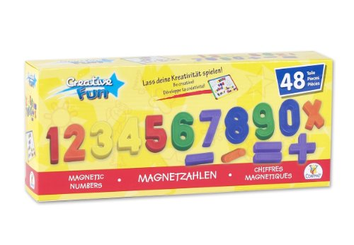 Preisvergleich Produktbild The Toy Company 12975 - Magnetzahlen, 48 Stück