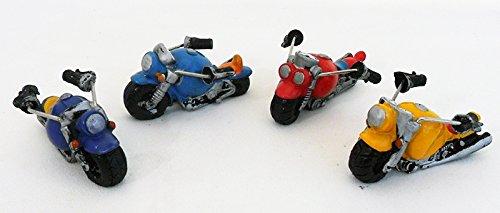 Bomboniere (24 bomboniere) moto in resina colori assortiti