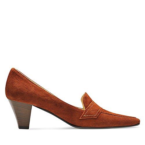 Chaussures Evita, Talons Bruns Pour Femmes (cognac)