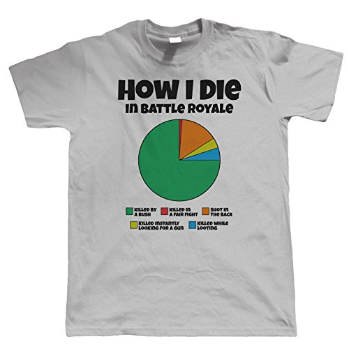 How I Die in Battle Royale Mens Fortnite T