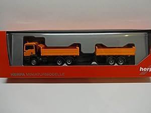 Herpa 308090fahrze ugman TGS M Euro 6C Diseño de camión de Tandem de Colgador Tren