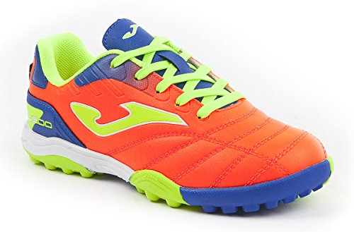 Joma toljs _ 708 _ TF Chaussures Futsal Toledo Jr 708 Turf Orange fluo Chaussure orange fluo