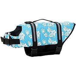SILD color Pet Chaleco salvavidas tamaño ajustable perro Salvavidas Seguridad Chaleco reflectante para mascotas Salvavidas chaleco de vida de ahorro de perro abrigo para natación Surfing canotaje caza