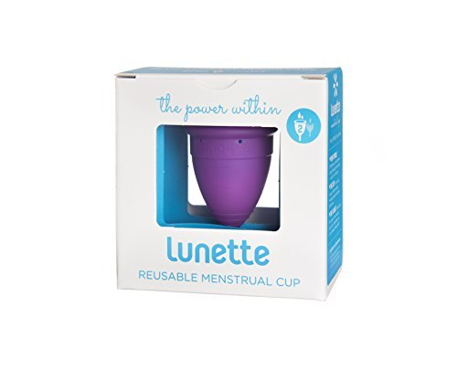 Lunette Menstrual Cup - Violet - Model 2 for Medium to Heavy Menstruation - Natural Alternative for Tampons and Sanitary Napkins by Lunette