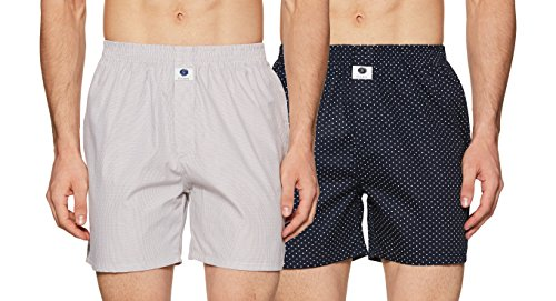 Amazon Brand - Symbol Men's Printed Boxers (Pack of 2)(SYMBXPO2-29_3606 & 3336_Multicolor_XX-Large)