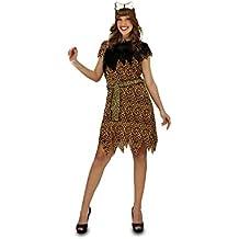 My Other Me - Disfraz para mujer Troglodita Aventurera, M/L (Viving Costumes 201211)