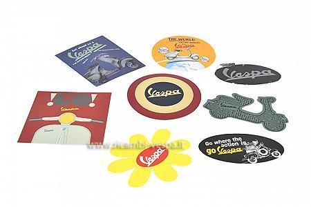 Set di adesivi Vespa