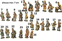 Idea Regalo - SET 10 PERSONAGGI PRESEPE 7 CM #PI 8033113032905