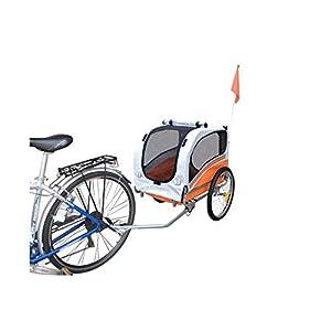 41vkhRZKNYL. SS300 Polironeshop Argo - Rimorchio e carrello per bicicletta, per il trasporto di cani