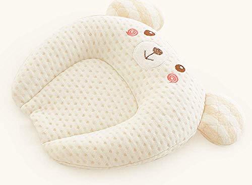 Babykissen Memory Schaum Kinderkissen Atmungsaktiv Babykopfkissen Anti-Allergen Baby Pillow Gegen Kopfverformung Kissen Unisex Kissen Gegen Plattkopf -