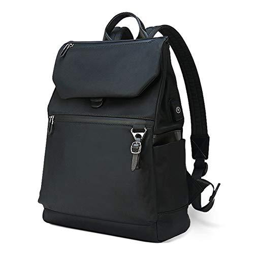 Petfu Rucksack Business Damen Laptop Backpack 14 Zoll Anti Diebstahl Rucksäcke Daypack Herren Schulrucksack Reiserucksack USB für Schule Universität, Schwarz