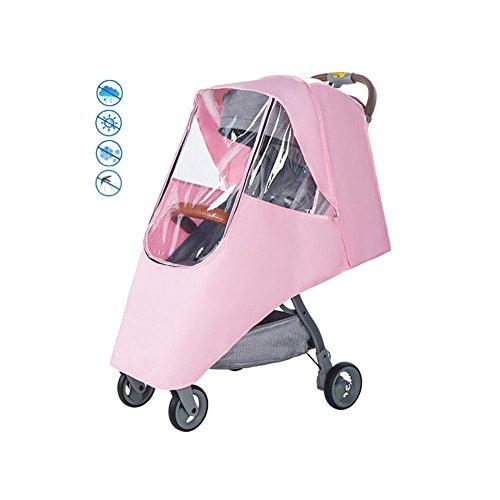 Wasserdicht, wasserdicht, winddicht, transparent, belüftet, Kunststoff, Schutz, Sonnenschutz, Regenschirm, Kinderwagen, Regenschutz