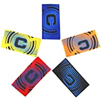 ASTARC Soccer Captain Armband Professional Football MatchPack of 6 Colors Velcro For Adjustable Size Suitable For Multiple Sports Including Football /& Rugby,hockey /& Gaelic football