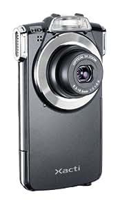 Sanyo VPC-PD1EXBK SD Pocket Camcorder (10 Megapixel, SD/SDHC Kartenslot, Full HD Video, USB) schwarz