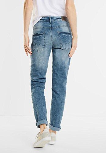 Cecil - Jeans - Uni - Femme Light Blue Used Wash