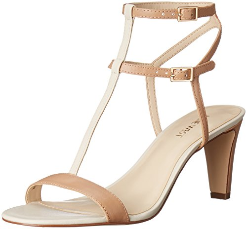 Nine West Dacey synthétique Sandales à talons Medium Natural Multi Synthetic