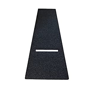 Dartteppich XL-Size 100 x 300 cm Darts Teppich Dartmatte Turniermatte mit Oche