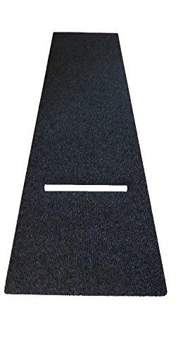 *Dartteppich XL-Size 100 x 300 cm Darts Teppich Dartmatte Turniermatte mit Oche*