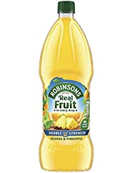 Robinsons Double Concentrate Orange and Pineapple Squash No Added Sugar, 1.75 Litre