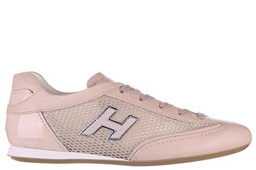 hogan-zapatos-zapatillas-de-deporte-mujer-en-piel-nuevo-olympia-h-flock-beige-eu-385-hxw05201687d860