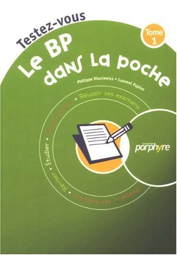 Le BP dans la poche : Tome 1