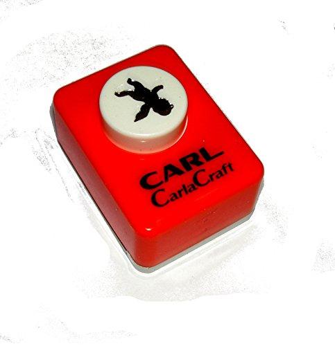 1 CARL Carlacraft Craft Punch Motivstanzer Kleiner Engel CP-1 Angel T (Motivgröße ca. 12x13mm)