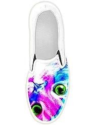 Dalliy Personalizado Pulpo Slip-EN Los Zapatos de Lona de Las Mujeres xmcFLIyeSW