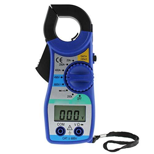 ZYX Multimeter, Spannungs- und Strommessgerät, Messspannung, Strom, Widerstand, Durchgang, Kapazität, Frequenz, Prüfdiode, Transistor, Blau