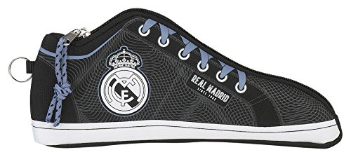 Real Madrid Estuche portatodo Zapatilla (SAFTA 811757584), Multicolor, 24 cm