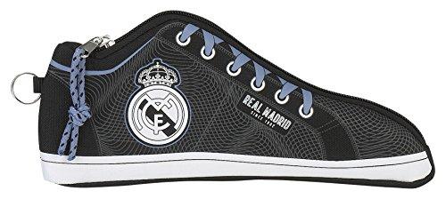 Real Madrid ST811757584 Estuche portatodo Zapatilla (SAFTA 811757584), Unisex niños, Fucsia/Azul Turquesa, 24 cm