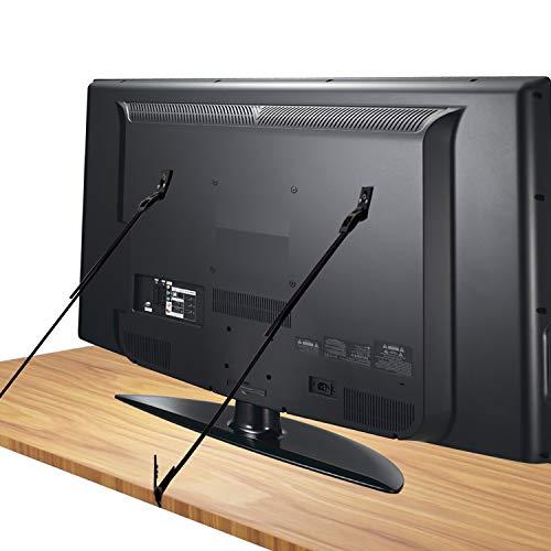 [Juego de 2] Correas de Seguridad Resistentes,Canwn Correa sujeción Televisor 70cm Ajustable...