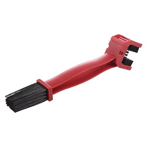 Radfahren Buersten - TOOGOO (R) Radfahren Motorrad Fahrrad Ketten Kurbelsatz Buersten Reinigungsmittel Reinigung-Werkzeug (rot)